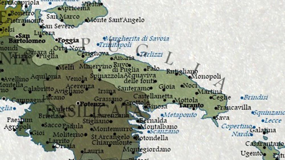Cartina Puglia Noci.Nel 2100 Finiremo Sott Acqua Diventa Virale La Mappa Di Un Digital Artist