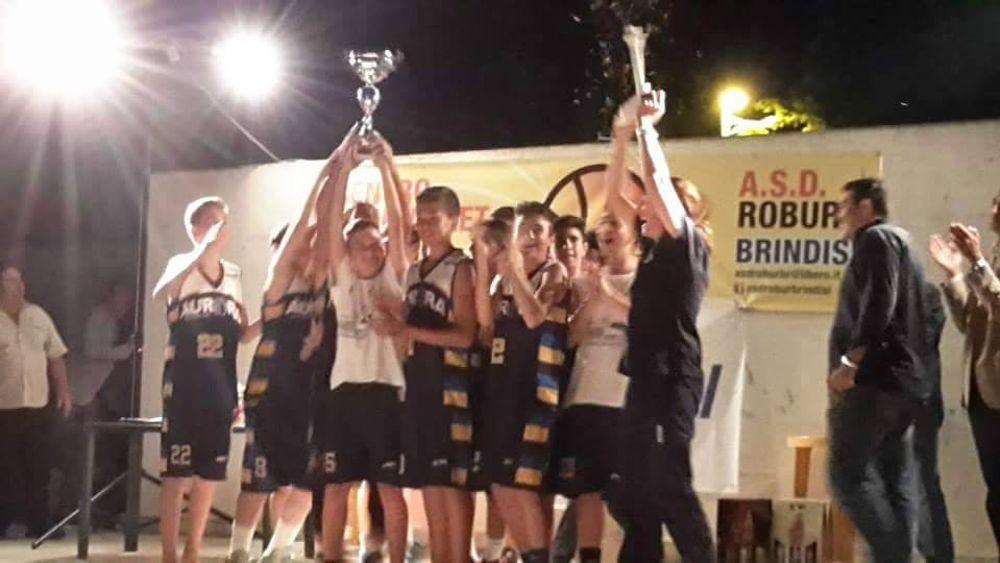 Basket l 39 aurora brindisi conquista la terza edizione del - La terza porta ...
